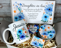 daughter in law birthday gift basket