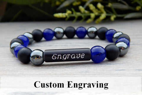 engraved jewelry personalized bracelet