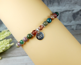 engraved bracelet for mom fancy jasper jewelry