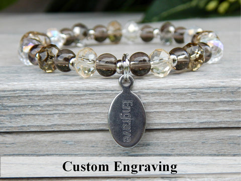 crystal bracelets personalized jewelry