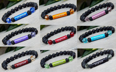 essential oil diffuser lava bracelet engraved jewelry
