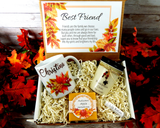 best friend fall gift basket to send
