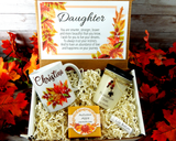 fall gift basket for daughter