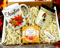 Fall themed gift box - Fall Birthday gift Autumn vibes