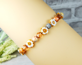 flower bracelet for moms birthday