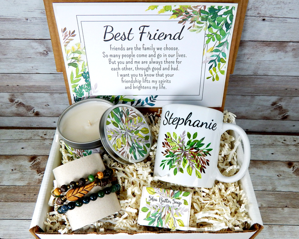 nature themed best friend gift