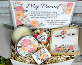 best friend friendship gift basket