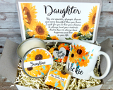 Sunflower Gift Basket for Daughter Birthday Gift to Send