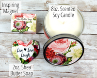 gift basket candles