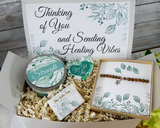 healing vibes gift basket surgery gifts recovery gift to send