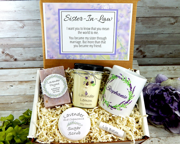 sister in law christmas gift basket