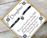 I'm So Proud of You Gift - Daughter Birthday Gift - Daughter Bracelet - Daughter Gift from Mom