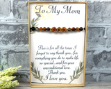 Gift for Mom  - Thank You Card - Mom's Birthday - Meaningful Gift for Mothers Day