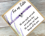 Unique Birthday Gifts For Sister - Sister Bracelet - Best Sister Jewelry