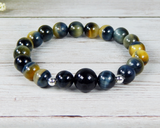 natural gemstone jewelry tiger eye bracelet for women