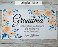 meaningful card for grandma