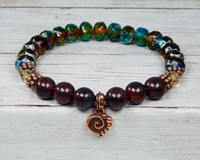 bohemian style bracelet for women handmade jewelry