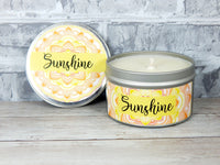 himalayan bamboo candle fresh scent sunshine soy candle