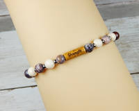 inspirational gift for hard times strength bracelet