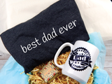 best dad ever gift basket for dads birthday shirt mug