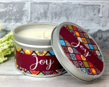 almond honey candle soy
