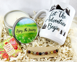 Gift Basket for New Journey - Enjoy The Journey Gift Basket - Inspirational Gift Baskets