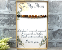 Funny Card for Mom  - Thank You Card - Mom's Birthday - Life Doesn't Come With a Manual It Comes with a Mother