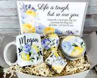 life is tough gift basket