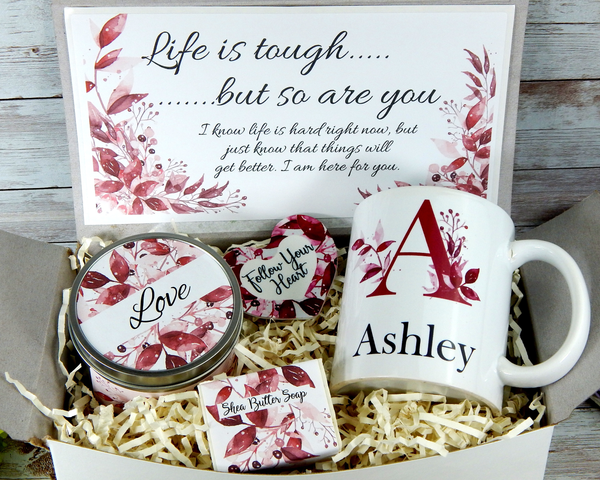 life is tough gift basket to send for encouragement