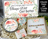 life is tough things will get better quarantine gift basket to ship directly
