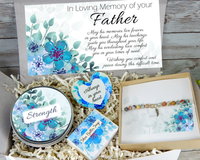 sympathy gift basket for loss of father