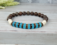 mens beach jewelry beaded bracelets for boyfriend