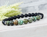 mens african turquoise bracelets nature jewelry for men