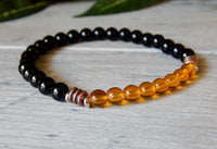 mens small bead bracelets