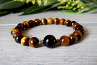 mens tiger eye jewelry