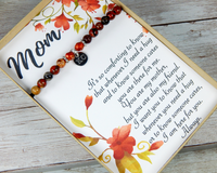 personalized mom jewelry card heartfelt mom saying