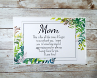 nature mom card