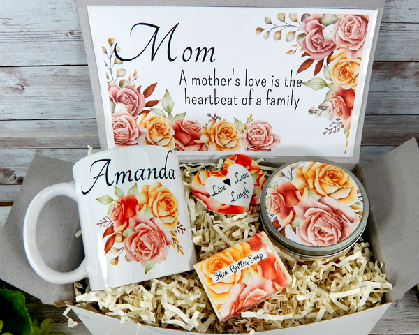 mom gift basket for mom's birthday christmas