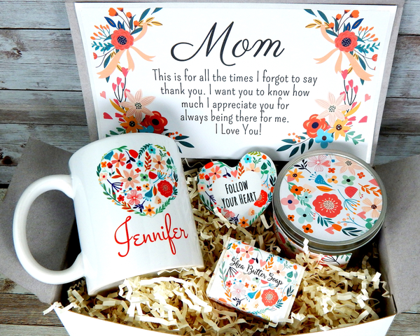 birthday gift for mom - mothers day gift basket
