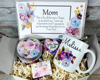 mom gift basket for mothers day