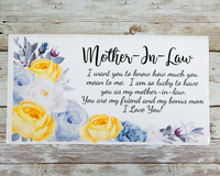 mother in law card
