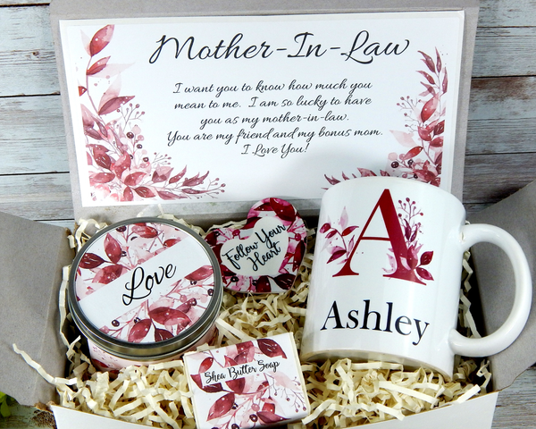 personalized mother in law gift