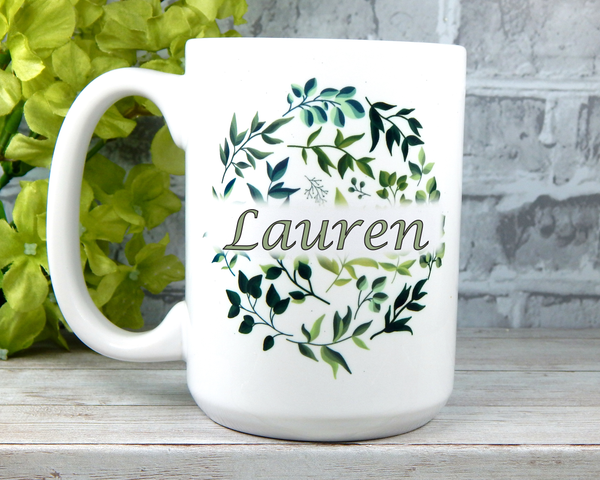 personalized name mug for mom gift for grandma custom name coffee cup