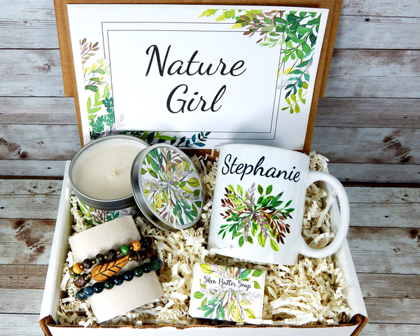 nature girl gift basket