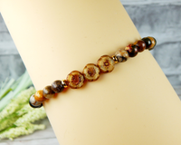 earth bracelet nature jewelry gift for mom