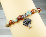 tree of life jewelry gift for nature bracelet