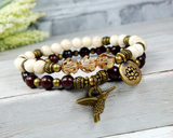 stacking bracelets nature jewelry for women