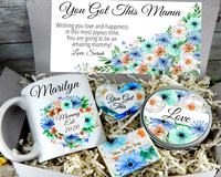 you got this mama gift basket for new mommy est 2020 baby shower