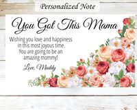 new mommy gift  card