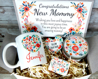 new mom gift basket for